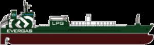 evergas gas tanker ship LPG